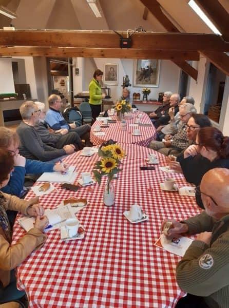 vrijwilligersbijeenkomst 4 november erfgoed
