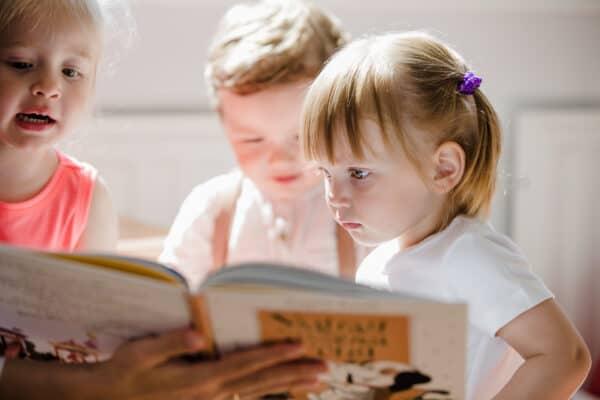 kleutervoorleesfeest literatuurproject Nieuwe Nobelaer groep 1 en 2